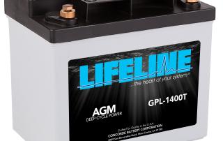 Lifeline GPL-1400T R HR Battery