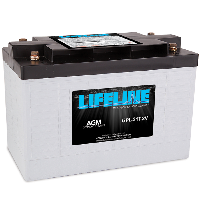 Lifeline GPL-31T-2V battery