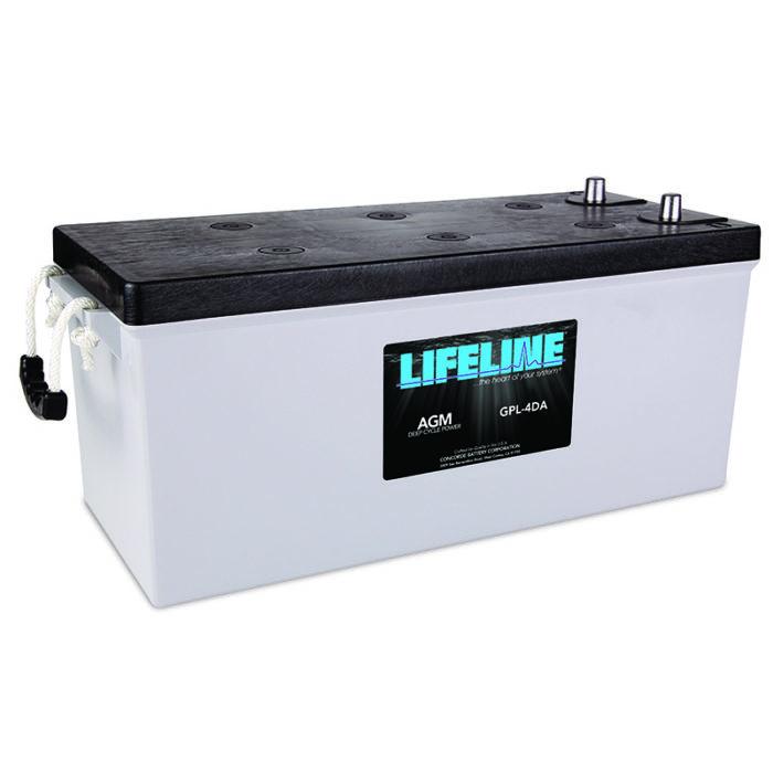 Lifeline GPL-4DA_R_HR battery