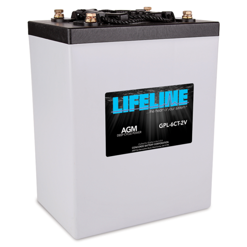 Lifeline GPL-6CT-2V battery