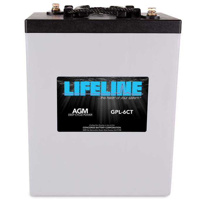 Lifeline GPL-6CT battery