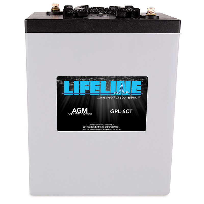 GPL-6CT AGM Battery
