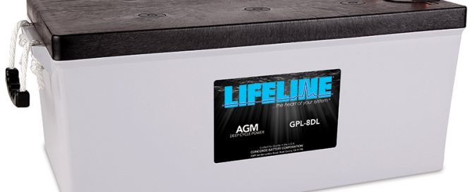 Lifeline GPL-8DL battery