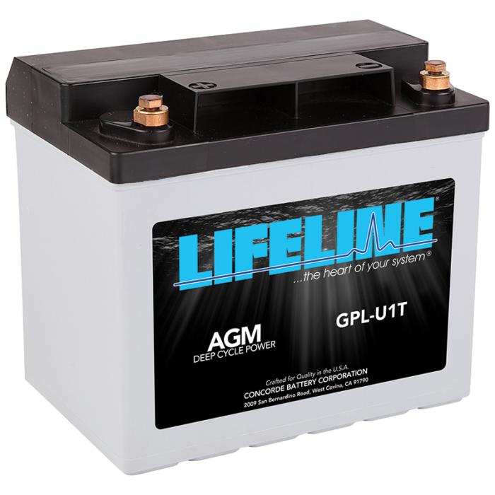 Lifeline GPL-U1T battery