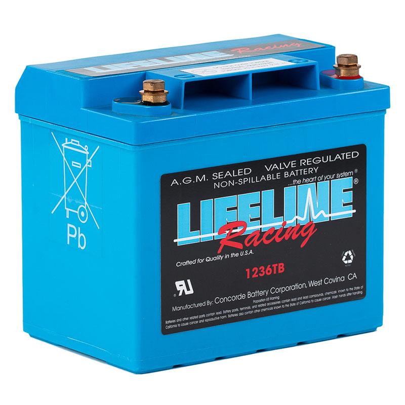 LL-1236TB AGM Racing Battery