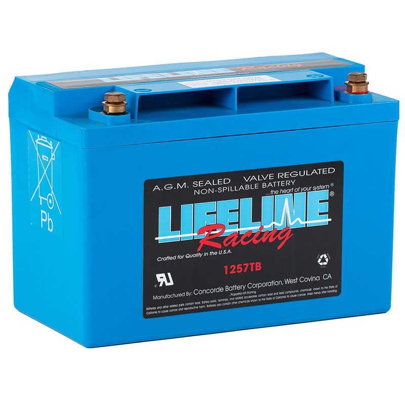 LL-1257TB AGM Racing Battery