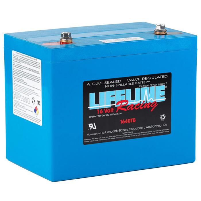 Lifeline 1640TB battery