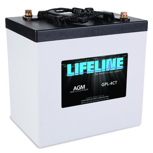Lifeline GPL-4CT_R_HR battery
