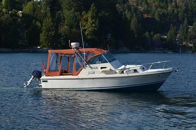Image of Boat on lake